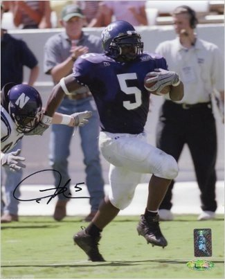 Ladainian Tomlinson Autographed Signed TCU Horned Frogs 8x10 PhotoTomlinsons - Certified Authentic