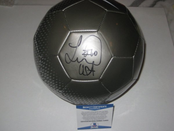 Landon Donovan La Galaxy Autographed Signed Nike Soccer Ball with - Beckett  Authentic 059c492fe