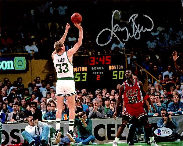 348cbc1dc14 Larry Bird Autographed Signed 8x10 Photo Boston Celtics - Beckett Authentic