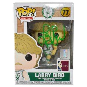 Larry Bird Autographed Signed Boston Celtics NBA Funko Pop Vinyl Figure (JSA)