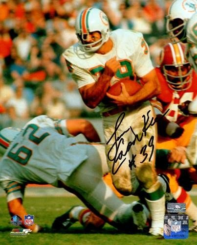 23859b21542 Larry Csonka Autographed Signed Auto Miami Dolphins 8x10 Photograph -  Certified Authentic
