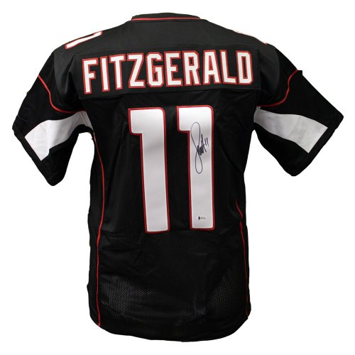 27054a7e6 Larry Fitgerald Arizona Cardinals Autographed Signed Custom Jersey -  Beckett Authentic