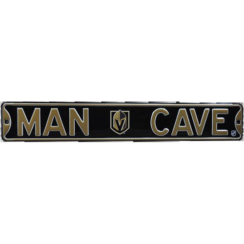 Las Vegas Golden Knights MAN CAVE Authentic Street Sign