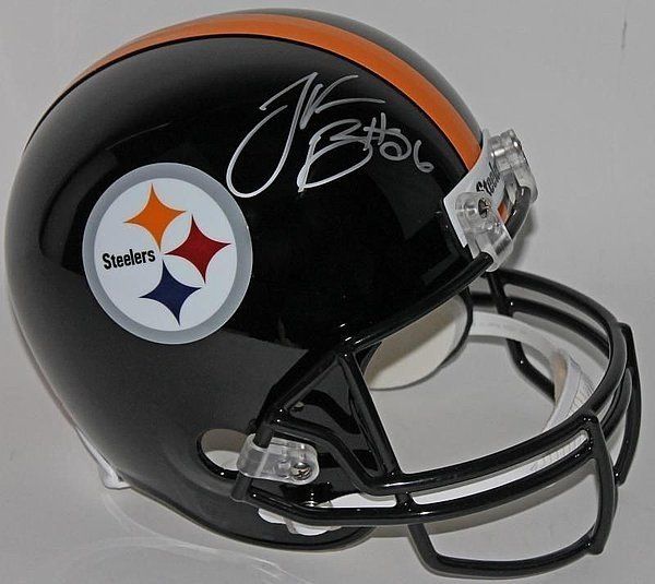 39f011863 Le Veon Bell Autographed Signed Pittsburgh Steelers Full Size Replica  Helmet - JSA Certified Authentic