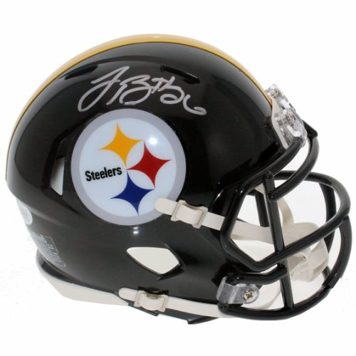 68e41a8ba Le Veon Bell Autographed Signed Pittsburgh Steelers Speed Mini Helmet - JSA  Certified Authentic -