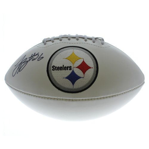 b8c2afed7 Le Veon Bell Autographed Signed Pittsburgh Steelers White Panel Football -  Certified Authentic