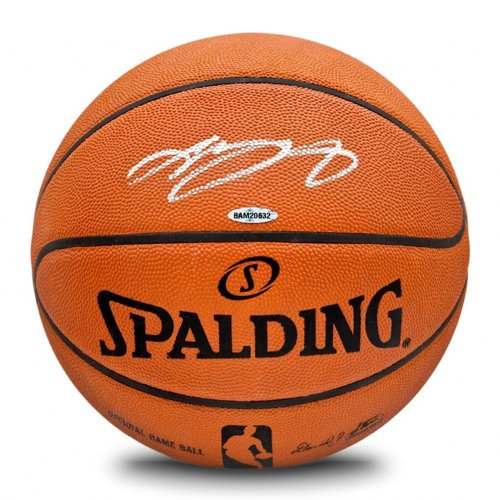 Lebron James Autographed Signed Spalding NBA Official Game Basketball: Upper Deck