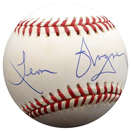 Signed 2016 World Series Baseball W/ Beckett Coa indians Zach Mcallister