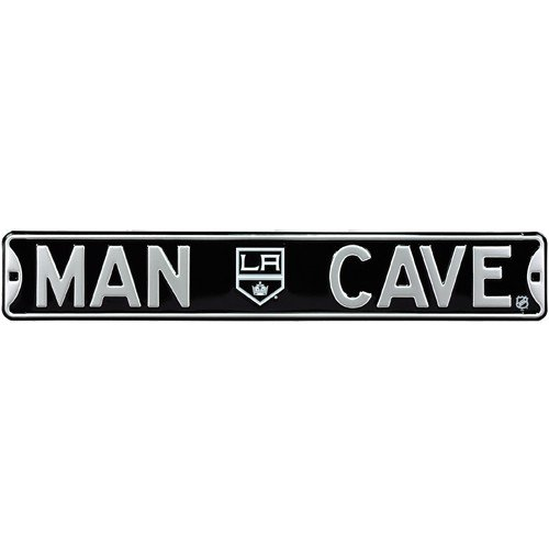 Los Angeles Kings MAN CAVE Authentic Street Sign