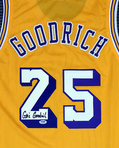 520c1f010c9 Los Angeles Lakers Gail Goodrich Autographed Signed Yellow Jersey - PSA/DNA  Authentic