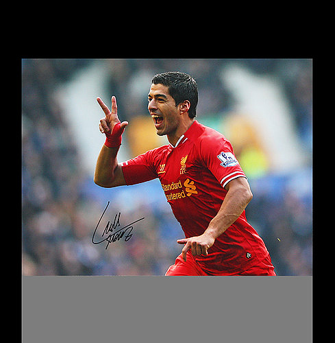 ebb9c174ea784 Luis Suarez Autographed Memorabilia   Signed Photo, Jersey ...