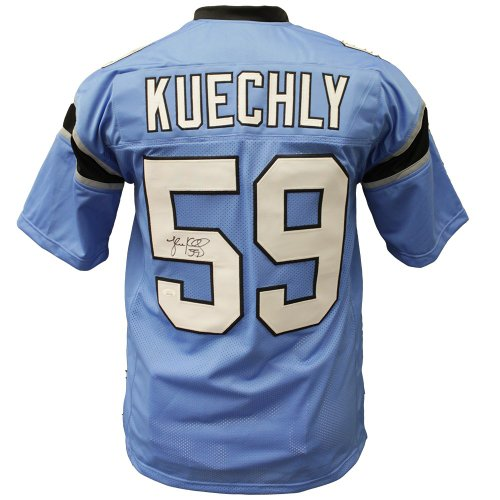new styles c24c6 01a08 Luke Kuechly Panthers Jersey Uniform 20 x 20 Framed Photo ...