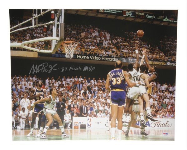 5f99c8b91e9 Magic Johnson Autographed Signed 16x20 Photo Los Angeles Lakers 87 Finals  MVP - PSA DNA Certified 16-