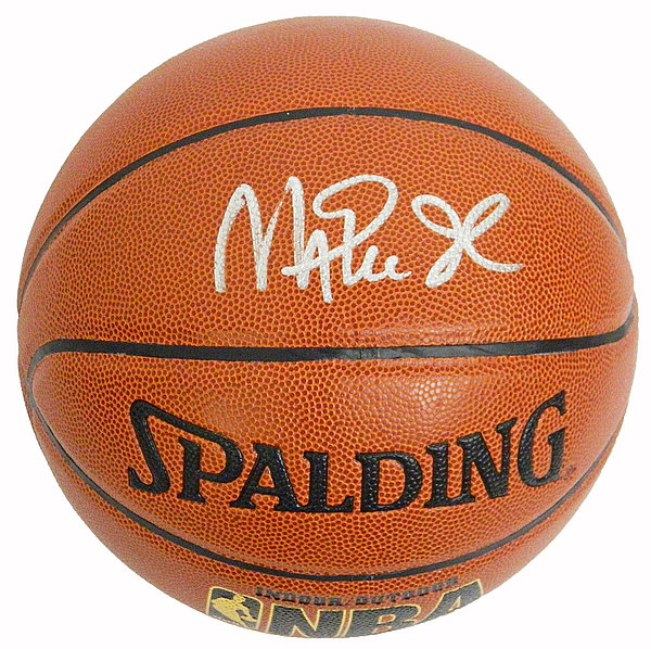 separation shoes 2d316 897da Magic Johnson Autographed Signed Spalding Indoor/Outdoor ...