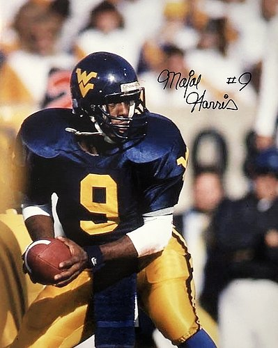Major Harris West Virginia Mountaineers 16-1 16x20 Autographed Signed Photo - Certified Authentic