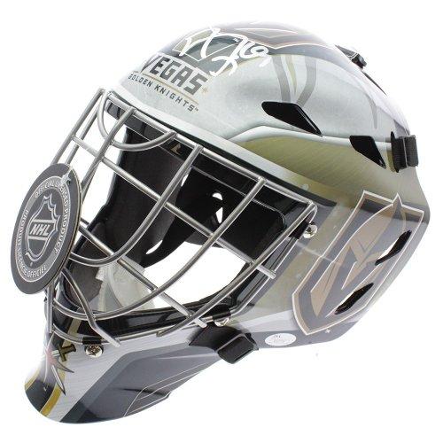 Marc Andre-Fleury Vegas Golden Knights Autographed Signed Goalie Helmet Mask - JSA Authentic