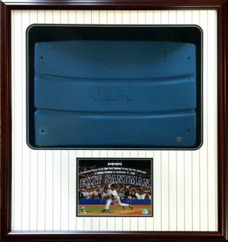 Mariano Rivera Autographed Signed Game Used Yankee Stadium Seatback Framed Auto Steiner