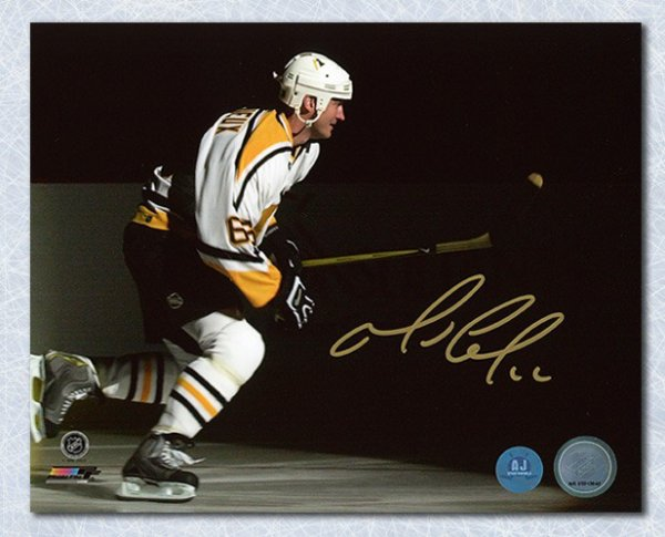 Mario Lemieux Pittsburgh Penguins Autographed Signed NHL Playoff Intro 8x10  Photo - Certified Authentic 6991b58f8f4