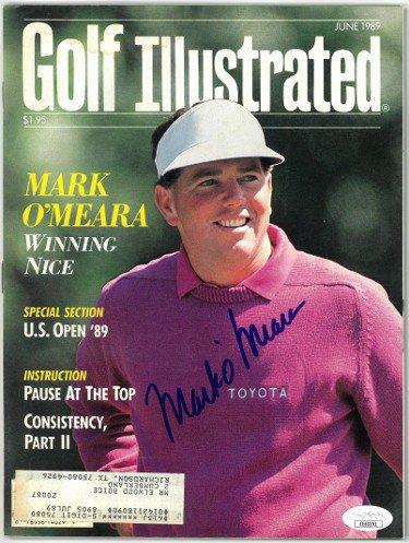 Mark O'Meara Autographed Signed Golf Illustrated Full Magazine June 1989- JSA #EE63391
