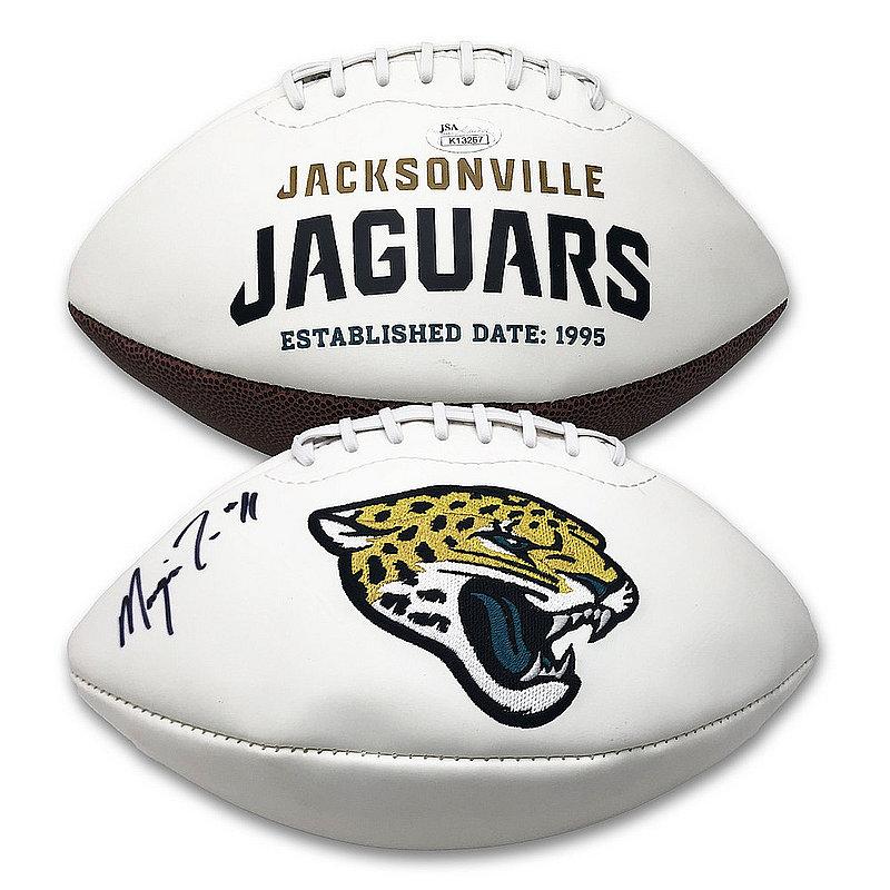 Marqise Lee Autographed Signed Jacksonville Jaguars Logo Football - JSA Authentic