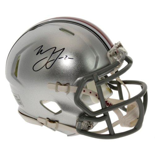 Marshon Lattimore Autographed Signed Ohio State Buckeyes Speed Mini Helmet - Certified Authentic