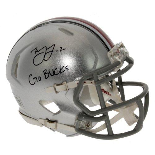 Marshon Lattimore Autographed Signed Ohio State Buckeyes Speed Mini Helmet - Go Bucks - Certified Authentic