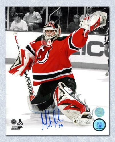 5098bc2a7 Martin Brodeur New Jersey Devils Autographed Signed Goalie Spotlight 8x10  Photo - Certified Authentic