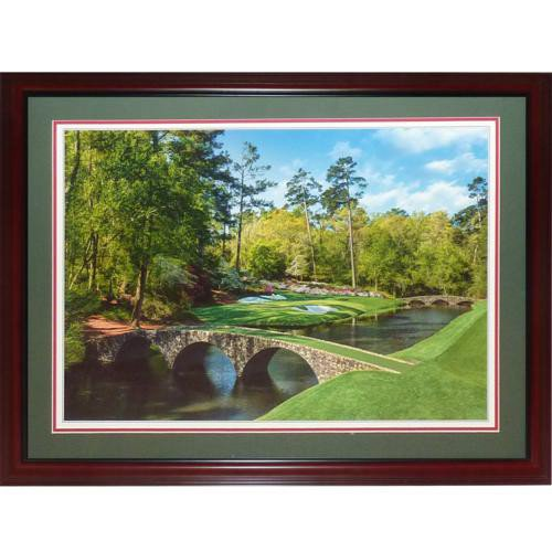 Masters Augusta National Golf Club Deluxe Framed Tournament Poster