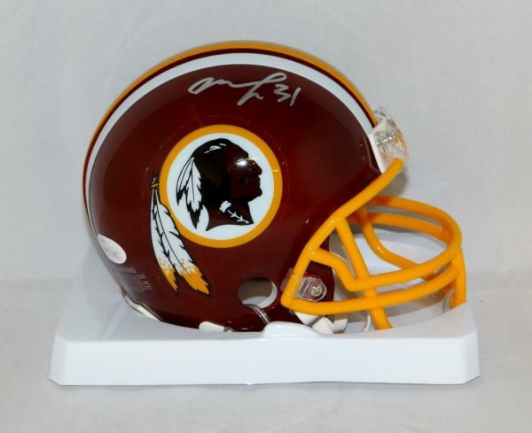 Matt Jones Autographed Signed Washington Redskins Mini Helmet- JSA W Authenticated