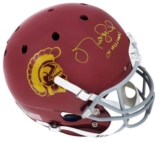 Matt Leinart Autographed Signed USC Trojans Schutt Full Size Replica Helmet w/04 Heisman