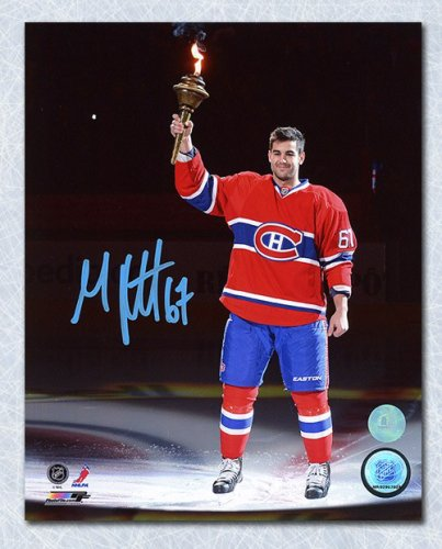 Max Pacioretty Montreal Canadiens Autographed Signed Torch Ceremony 8x10 Photo