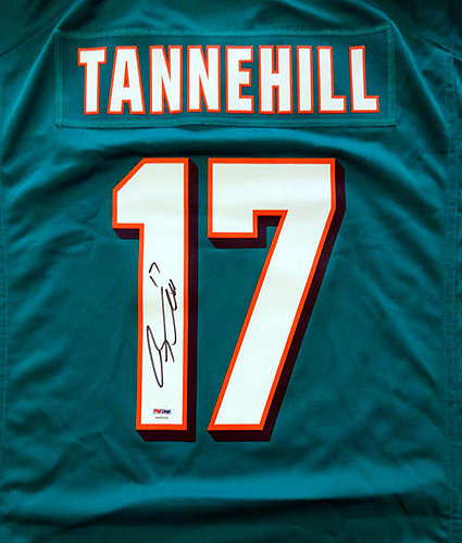 ryan tannehill autographed jersey