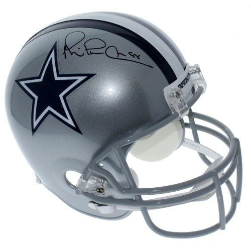 9bf6b8562d4 Michael Irvin Dallas Cowboys Autographed Signed Riddell Full Size Replica  Helmet - PSA/DNA Authentic