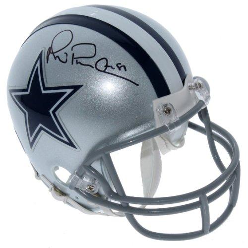 5a8c0833d63 Michael Irvin Dallas Cowboys Autographed Signed Riddell Mini Helmet - PSA/DNA  Authentic