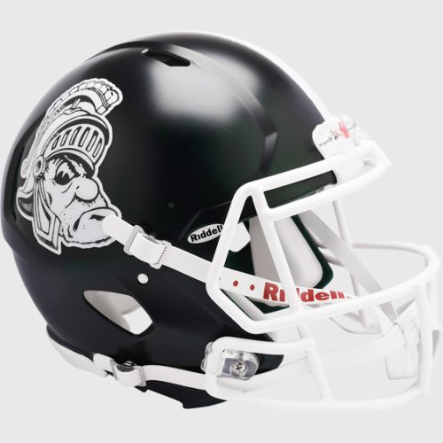 Michigan State Spartans Speed Football Helmet Gruff Sparty