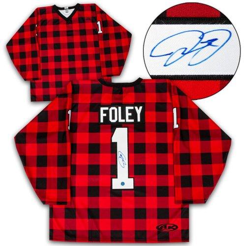 Mick Foley Autographed Signed Cactus Jack Lumberjack Wrestling Custom Hockey Jersey