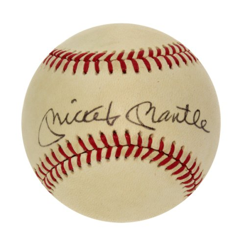 Mickey Mantle Signed Baseball - New York Yankees - JSA Certified Authentic - Autographed Baseballs