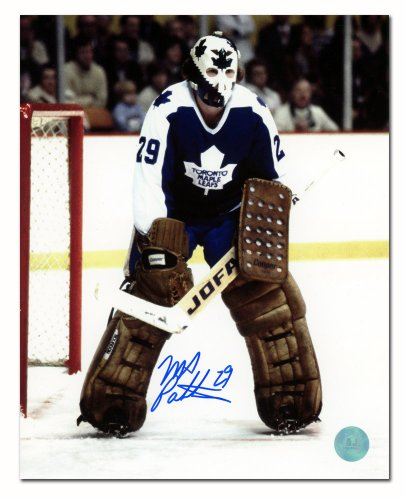 more photos e753d af878 Mike Palmateer Toronto Maple Leafs Autographed Signed Hockey ...