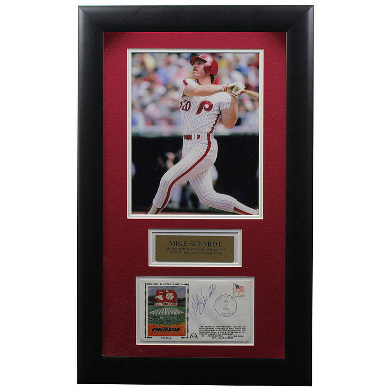 Mike Schmidt Autographed Signed Framed First Day Cover - Certified Authentic