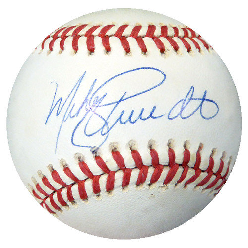 d7d6675908c Mike Schmidt Autographed Signed Official National League Baseball  Philadelphia Phillies - Beckett Certified