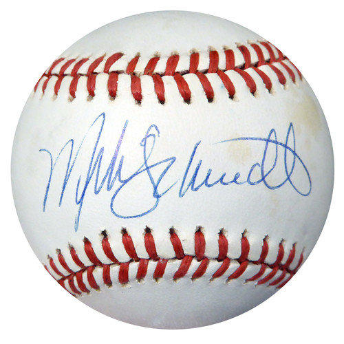 1de3fd5041f Mike Schmidt Autographed Signed Official NL Baseball Philadelphia Phillies  - PSA DNA Certified