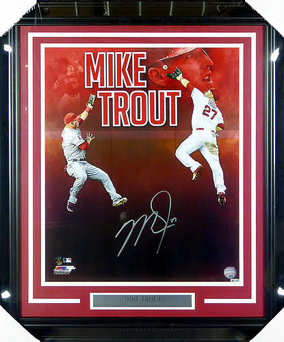 a6efcdaef8c75 Mike Trout   Autographed Baseball Memorabilia & MLB Merchandise