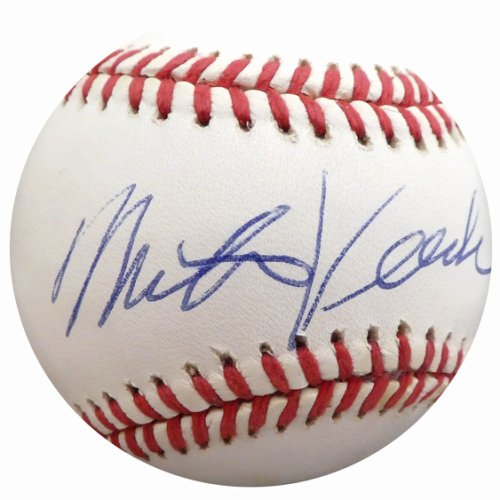 Mike Veeck Autographed Signed Official AL Baseball Son Of Bill Veeck Beckett BAS Q01410
