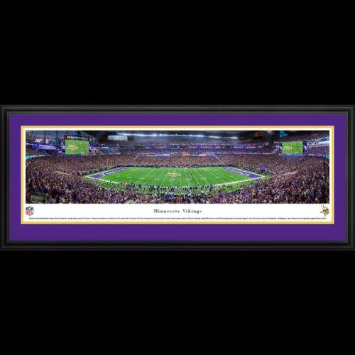 Minnesota Vikings Deluxe Framed Panoramic - U.S. Bank Stadium