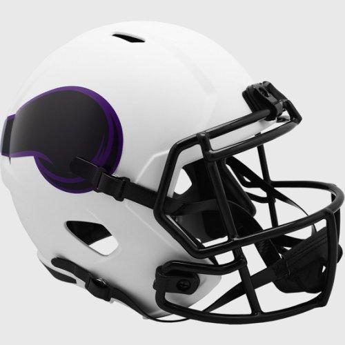 Minnesota Vikings Speed Replica Football Helmet LUNAR