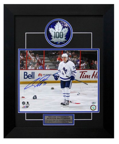 the latest 60b47 5eeca Mitch Marner Autographed Memorabilia | Signed Photo, Jersey ...