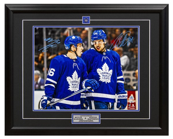 the latest fbe40 61b47 Mitch Marner Autographed Memorabilia | Signed Photo, Jersey ...