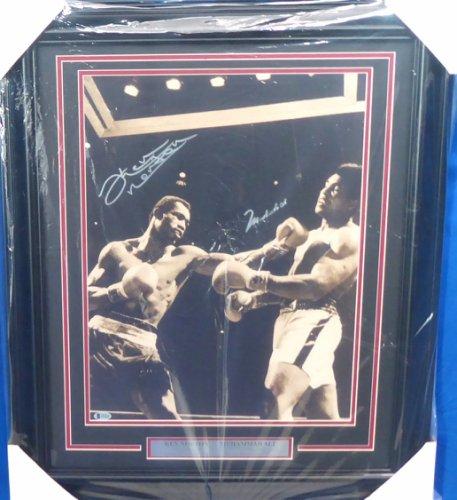 Muhammad Ali & Ken Norton Autographed Signed Framed 16x20 Photo Beckett BAS #A53365