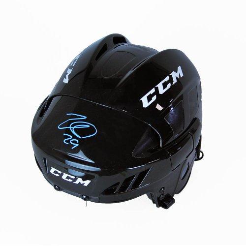 Nathan MacKinnon Autographed Signed CCM Hockey Helmet - Colorado Avalanche