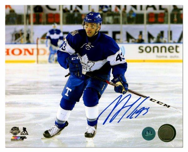 separation shoes 9af7d 335d8 Nazem Kadri Toronto Maple Leafs Autographed Signed 2017 ...